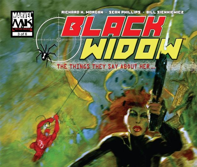 Black Widow: The Things They Say About Her (2005) #3