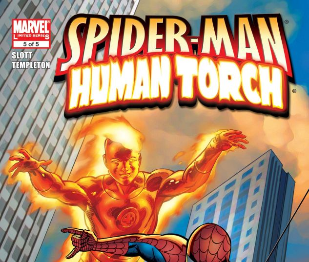 SPIDER-MAN/HUMAN TORCH (2005) #5