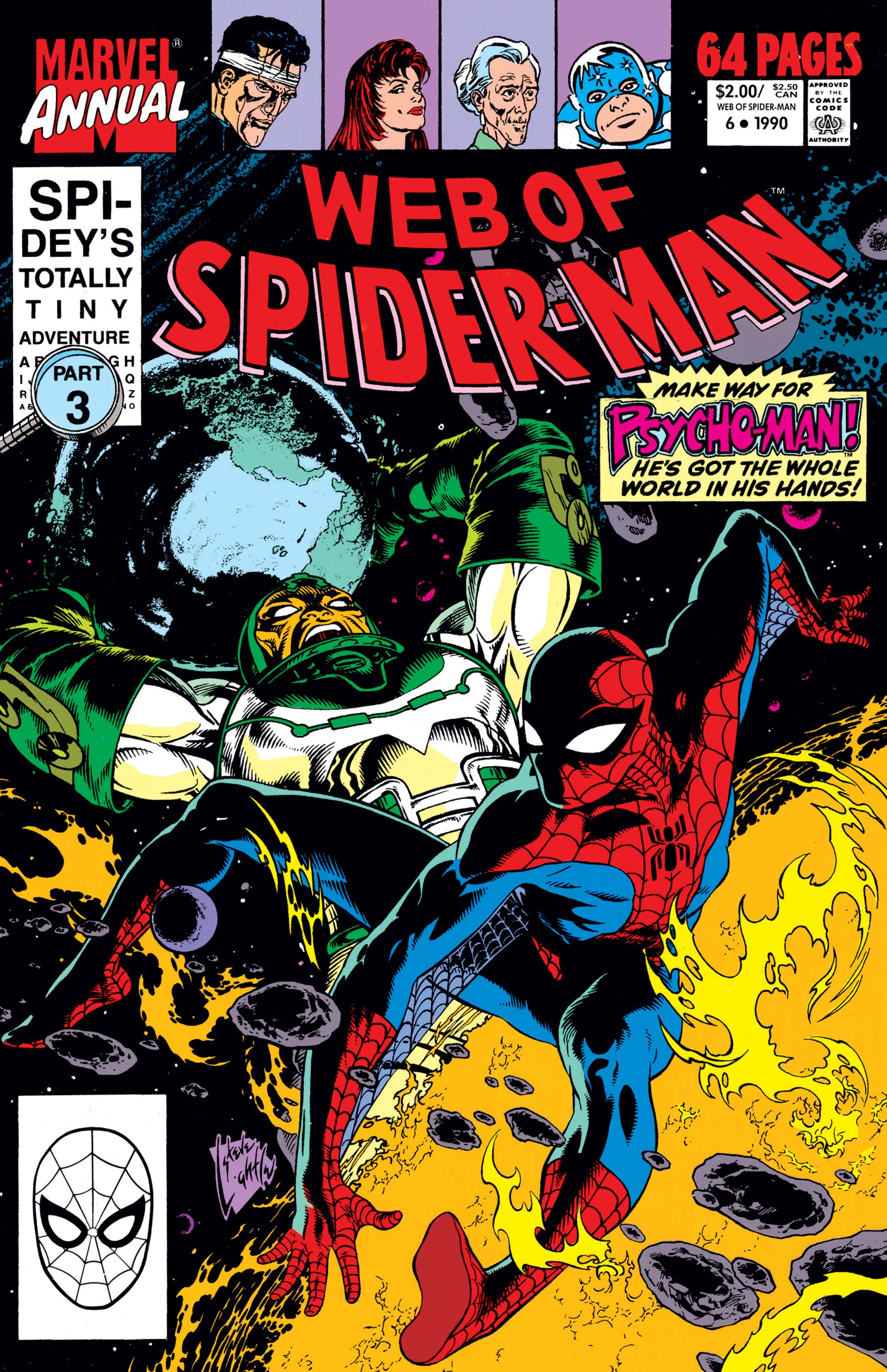 Web of Spider-Man Annual (1985) #6