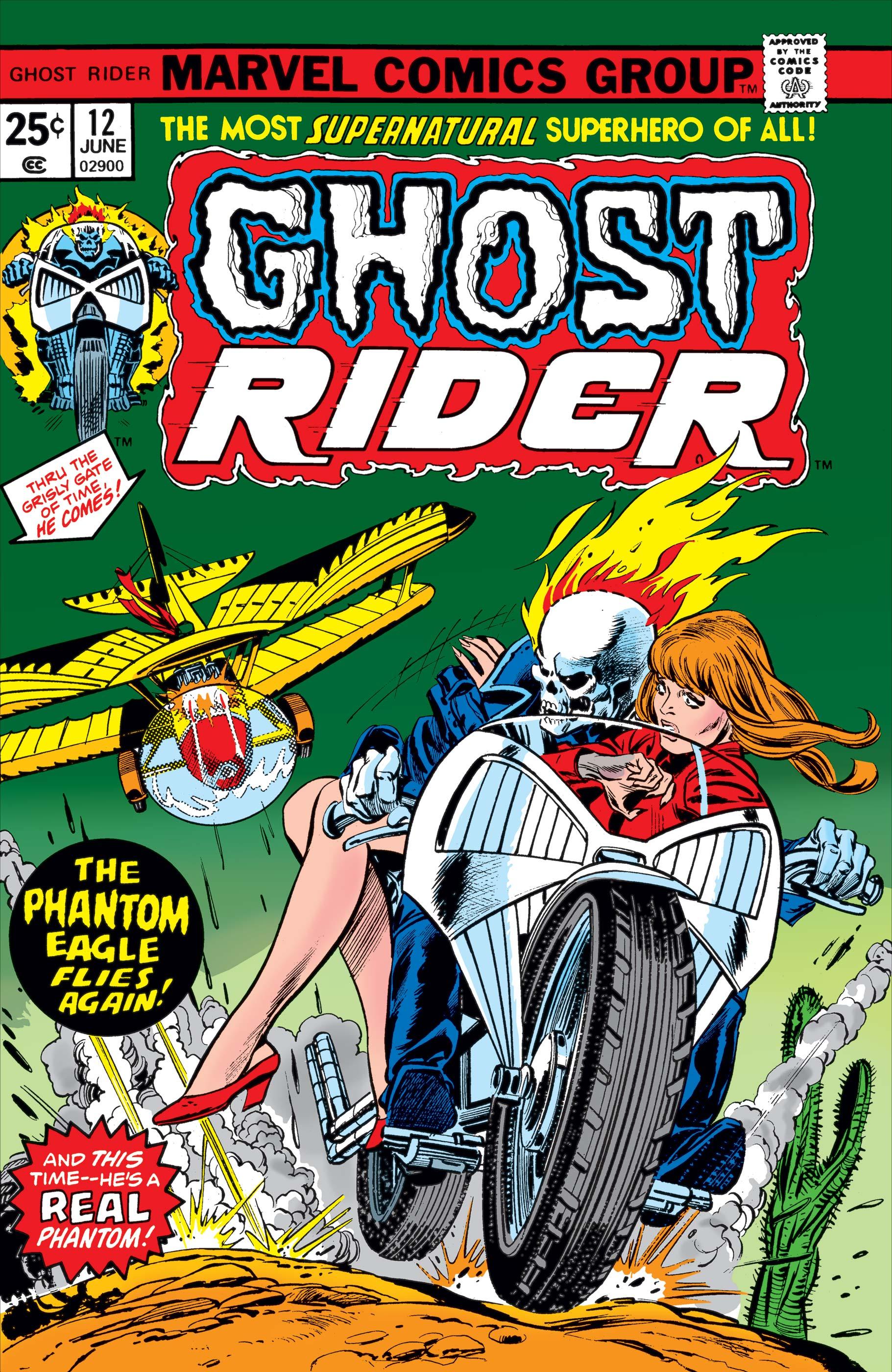 Ghost Rider (1973) #12