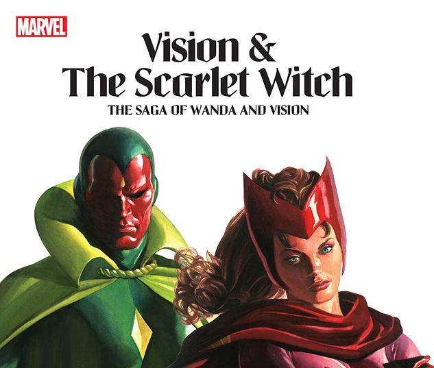 VISION & THE SCARLET WITCH: THE SAGA OF WANDA AND VISION TPB #1