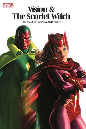 VISION & THE SCARLET WITCH: THE SAGA OF WANDA AND VISION TPB (Trade Paperback)