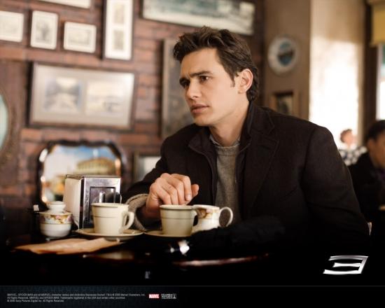 Spider-Man 3 Movie: Harry Osborn in Coffee Shop