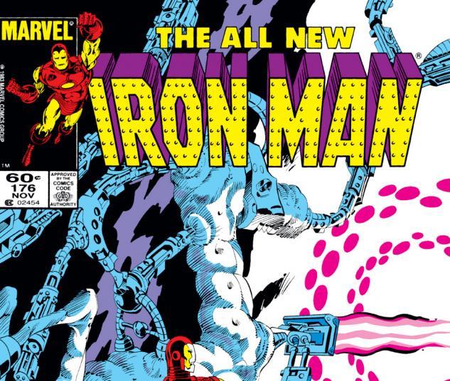 Iron Man (1968) #176 Cover