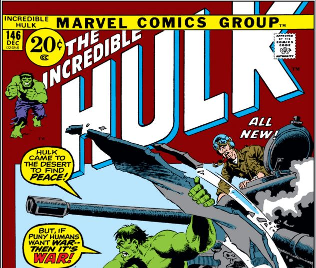 Incredible Hulk (1962) #146 Cover