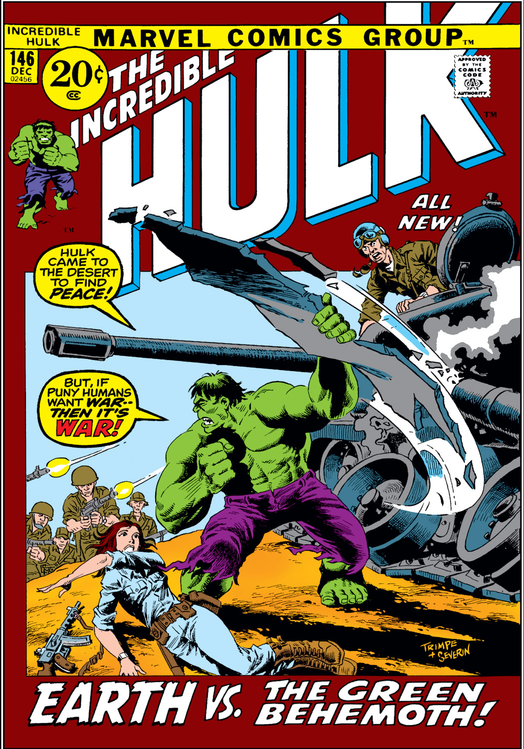 Incredible Hulk (1962) #146