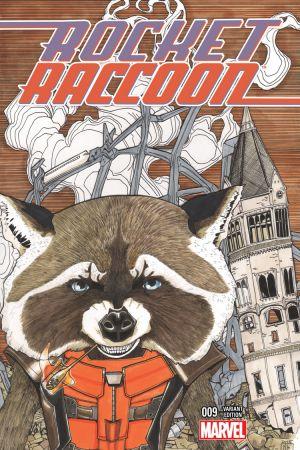 Rocket Raccoon (2014) #9 (Lee Wom Variant)