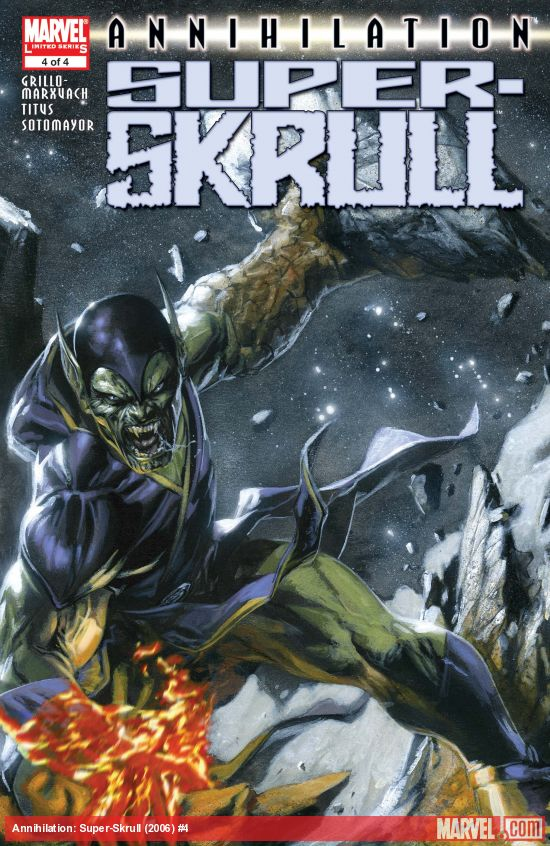 Annihilation: Super-Skrull (2006) #4