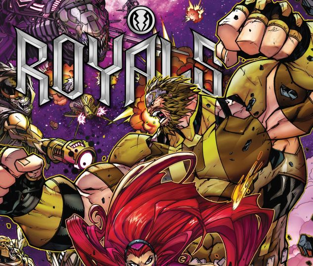cover to Royals (2017) #2