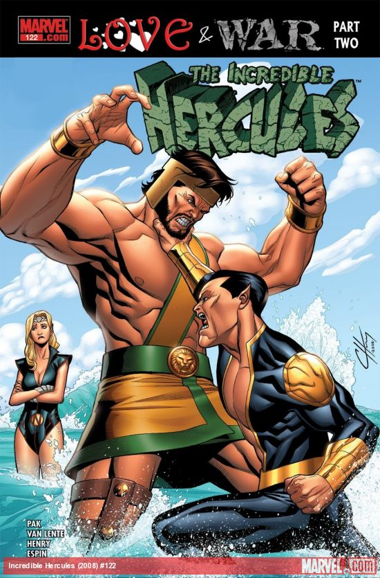 Incredible Hercules (2008) #122
