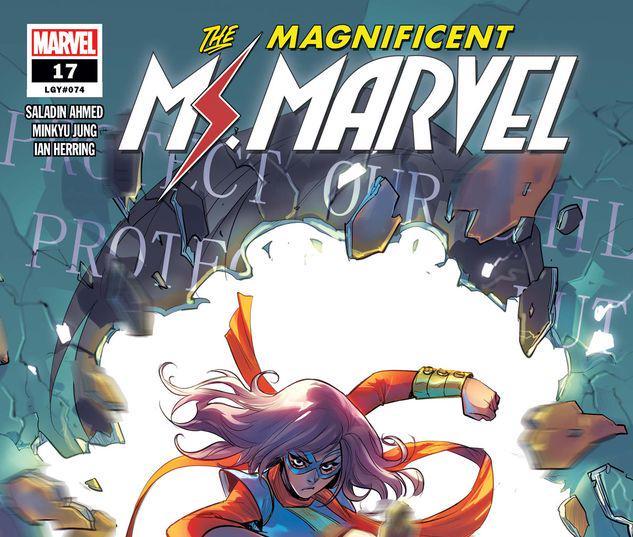 Magnificent Ms. Marvel #17