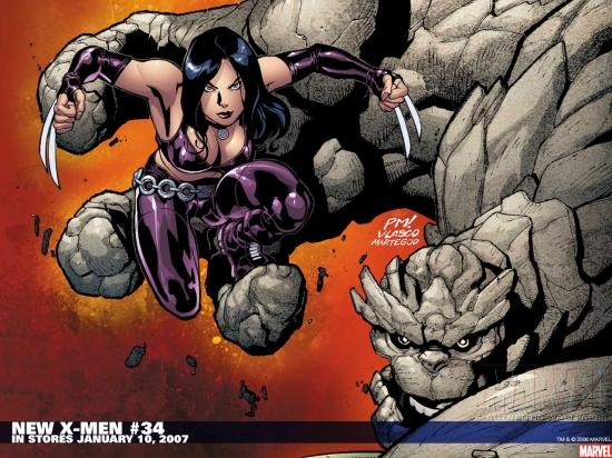 New X-Men (2004) #34 Wallpaper