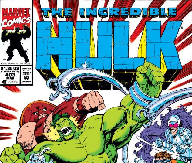 Incredible Hulk (1962) #403 Cover