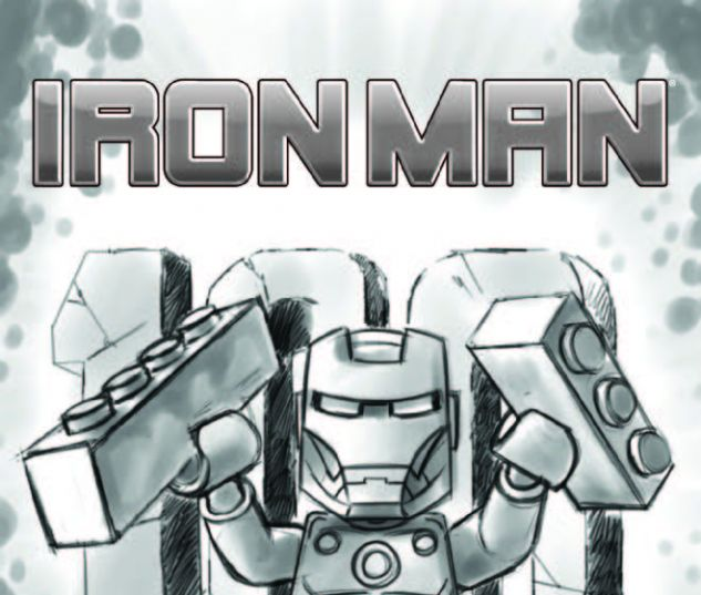 IRON MAN 17 CASTELLANI LEGO SKETCH VARIANT (WITH DIGITAL CODE)