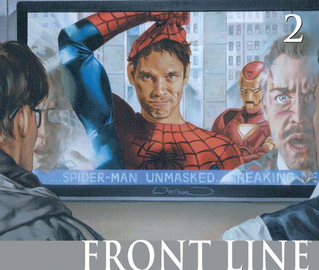 CIVIL WAR: FRONT LINE (2006) #2 Cover