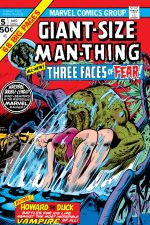 Giant-Size Man-Thing (1974) #5 cover