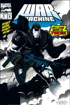 War Machine (1994) #4