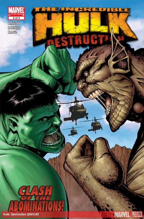 Hulk: Destruction (2005) #2