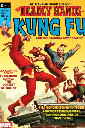 Deadly Hands of Kung Fu #9