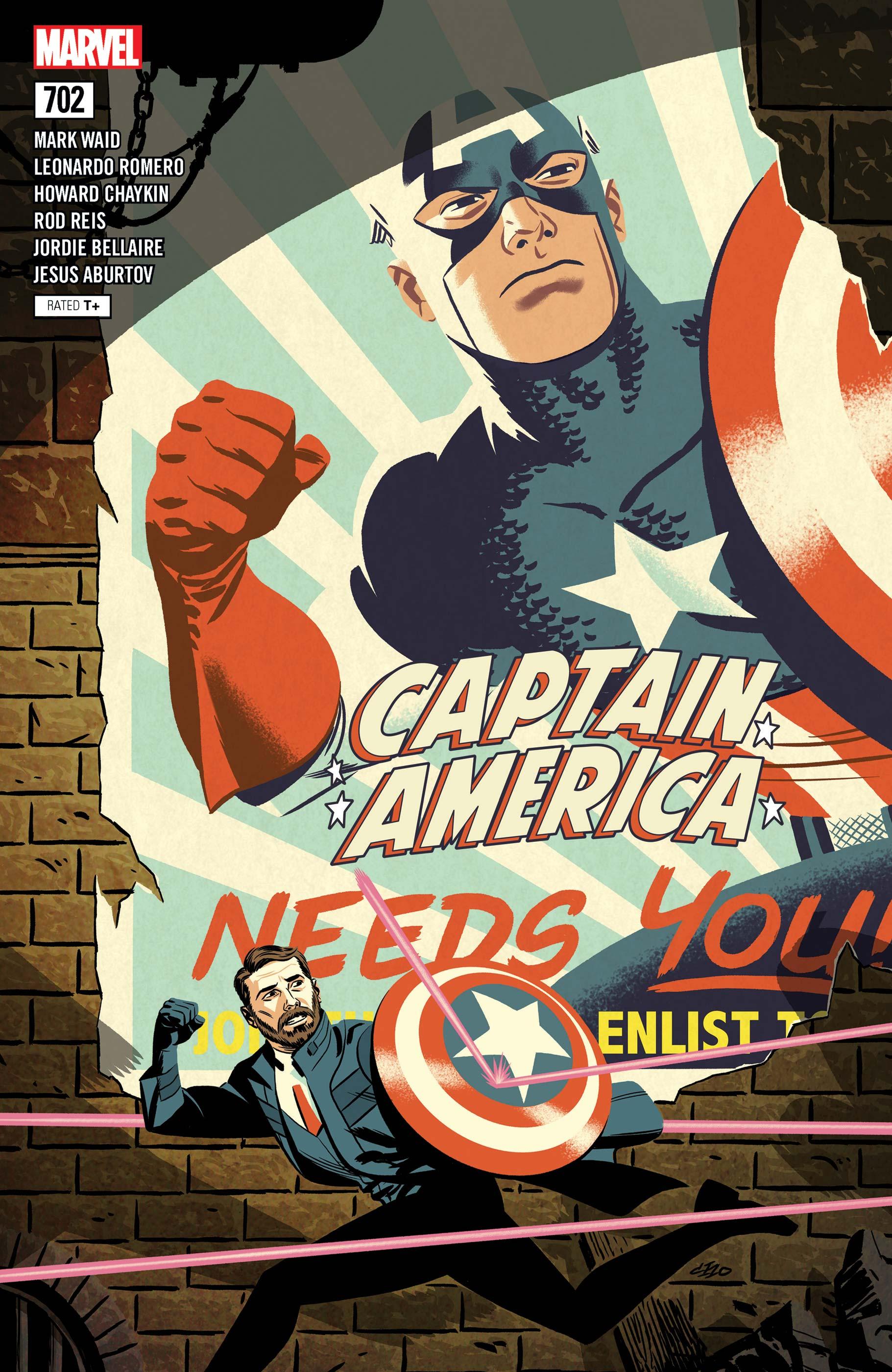 Captain America (2017) #702