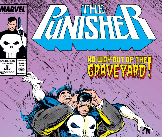 cover from Punisher (1987) #8