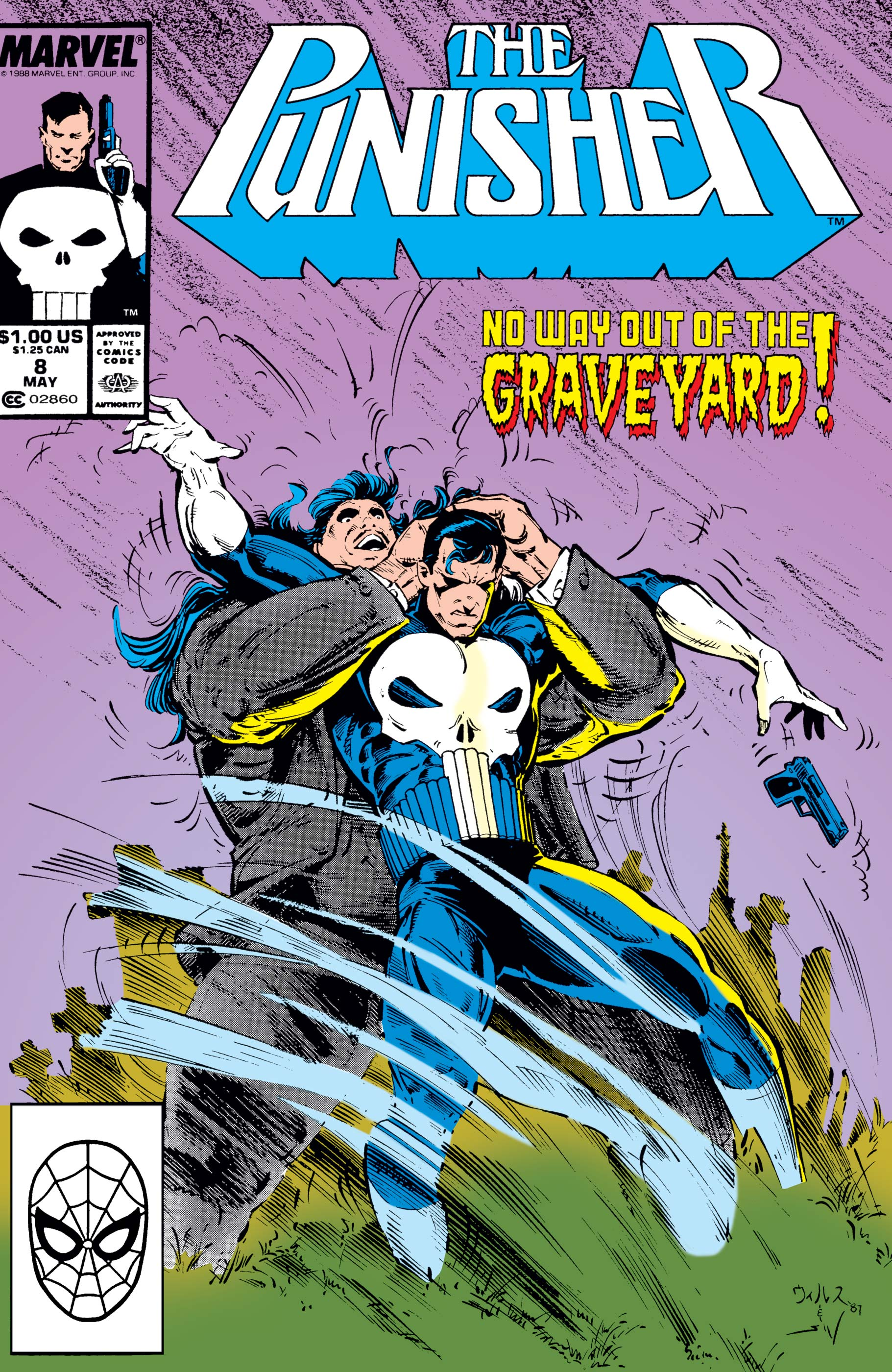 The Punisher (1987) #8