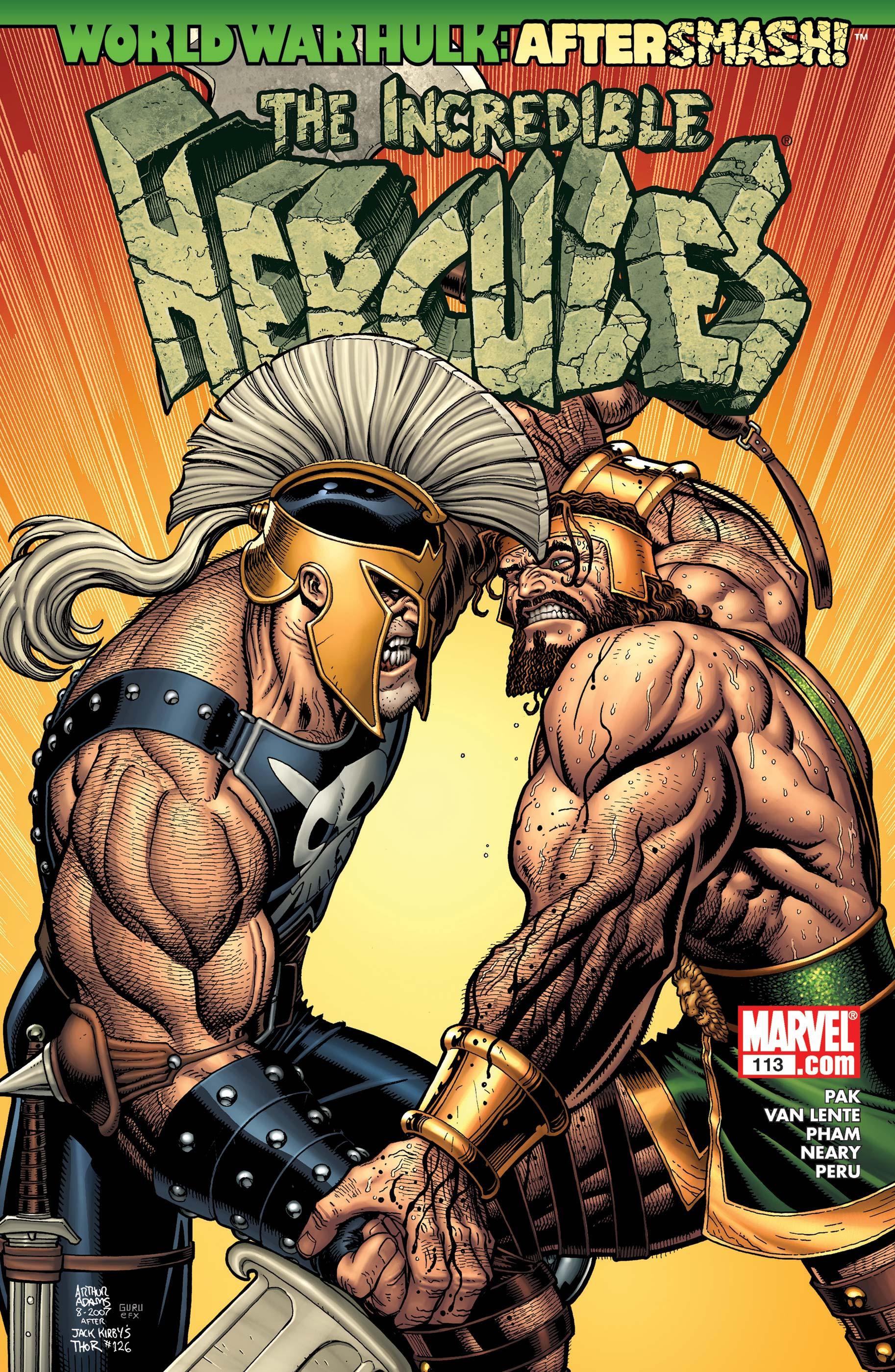 Incredible Hercules (2008) #113
