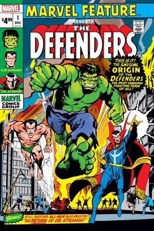 Defenders: Marvel Feature: Facsimile Edition (2019) #1