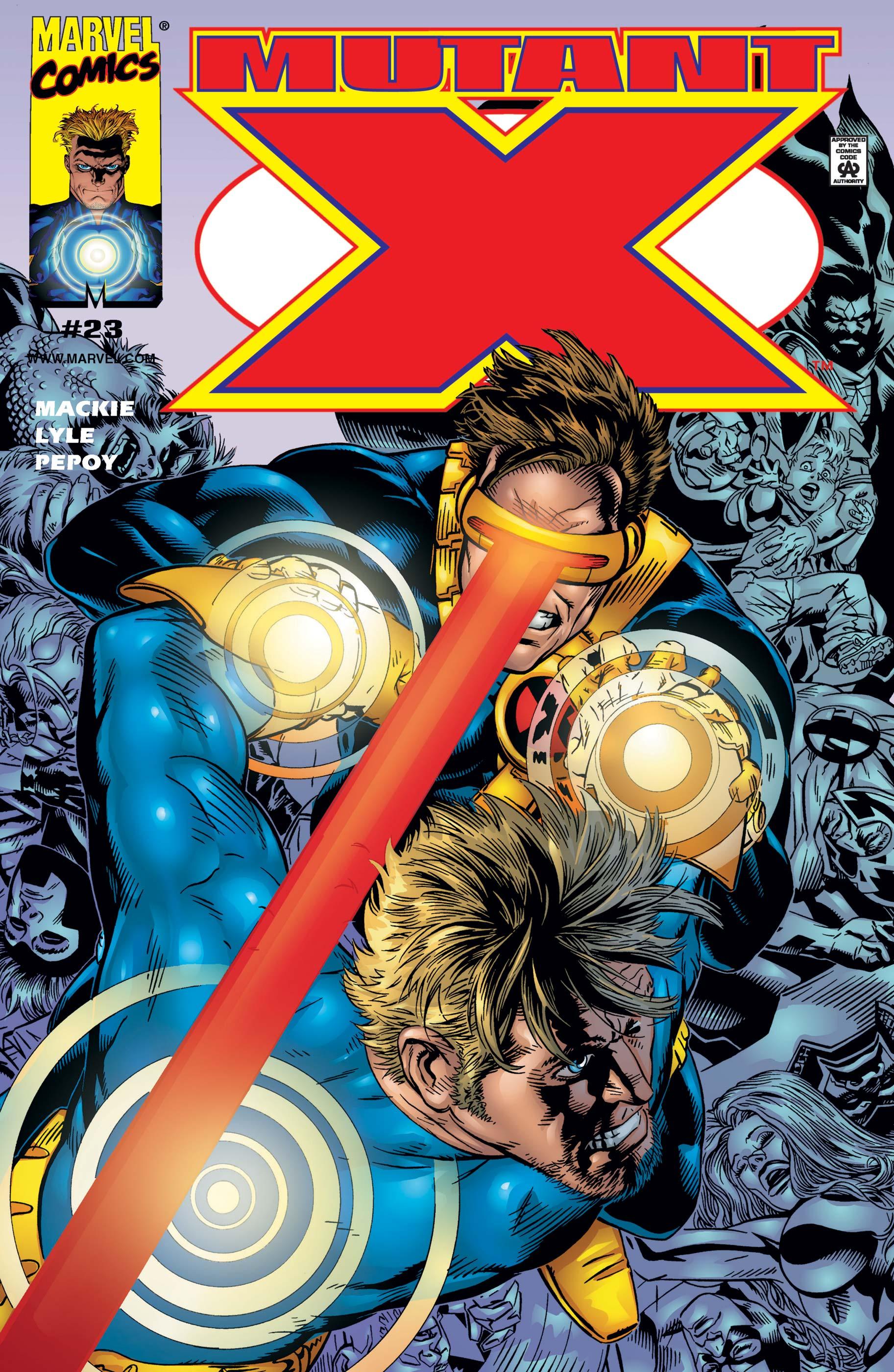 Mutant X (1998) #23