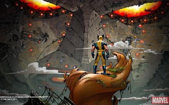 Astonishing Spider-Man/Wolverine (2010) #3 Wallpaper