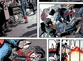 First Look: Captain America & Bucky #624