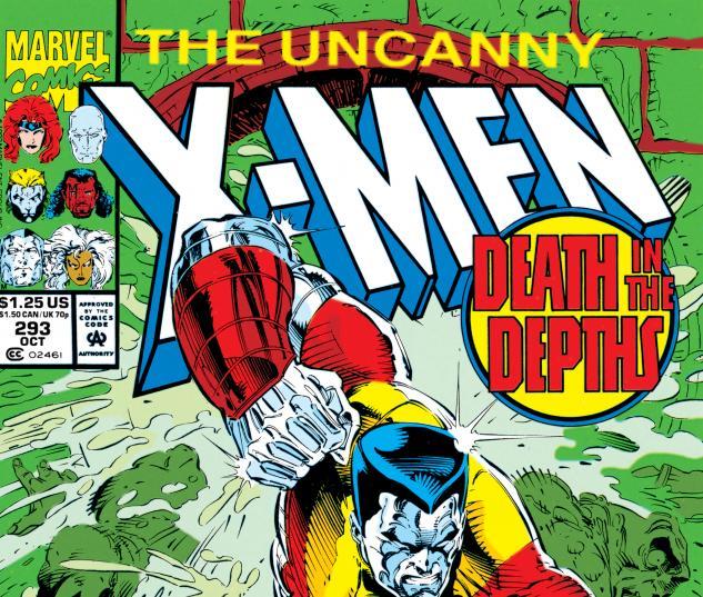 Uncanny X-Men (1963) #293 Cover