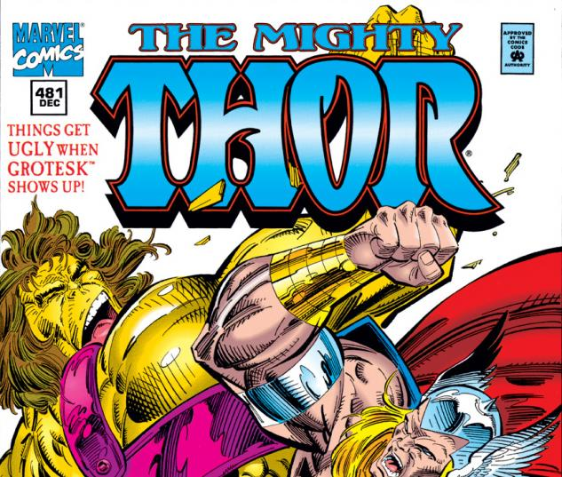 Cover for Thor (1966) #481
