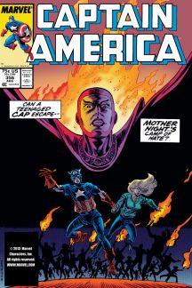 Captain America #356
