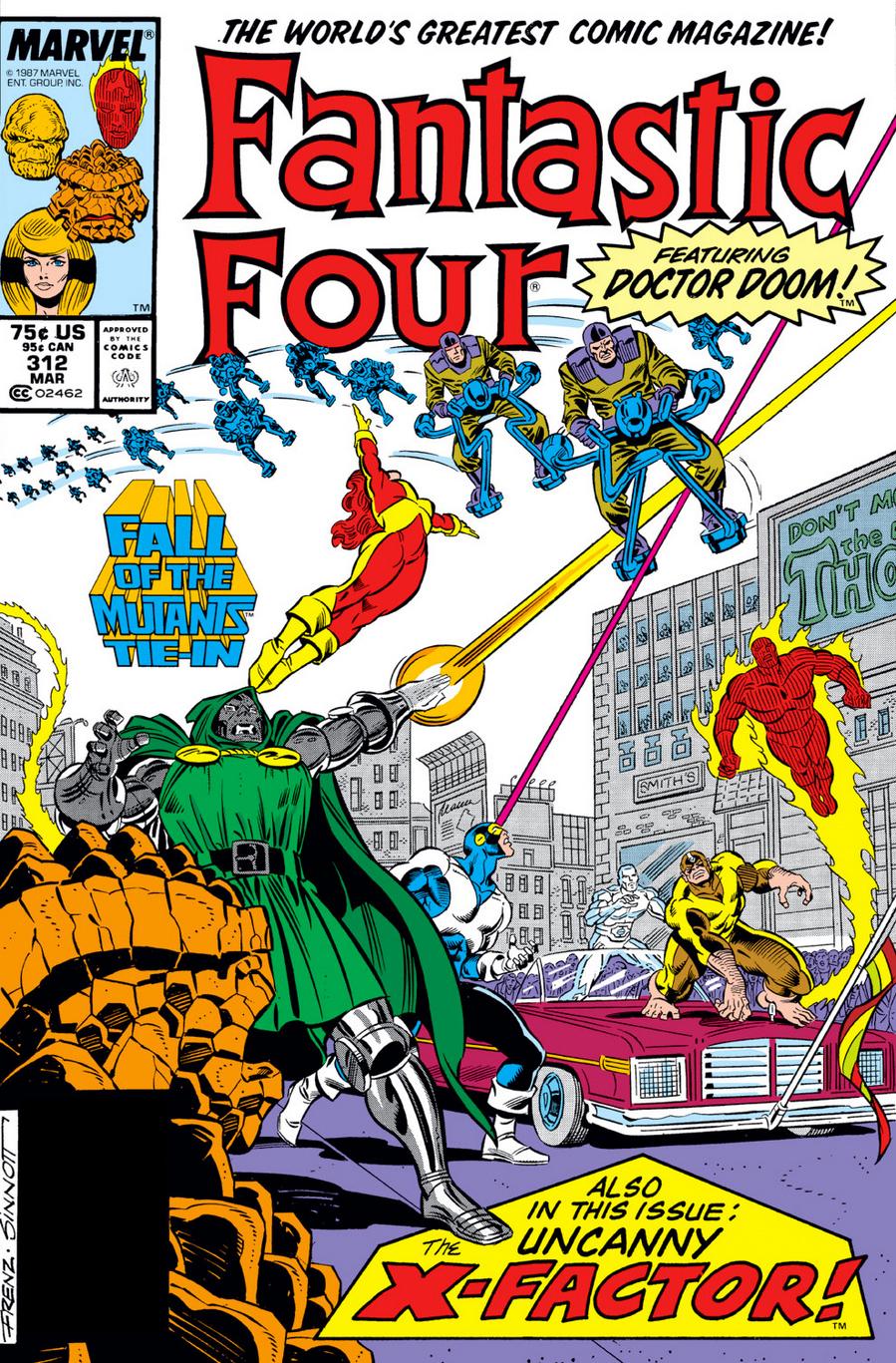 Fantastic Four (1961) #312