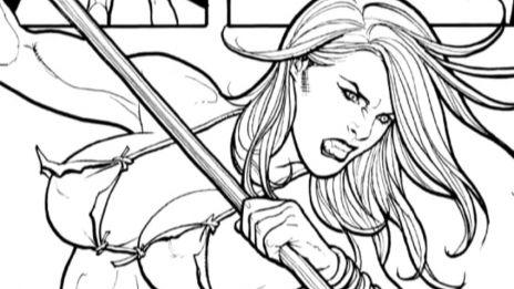 Marvel AR: Frank Cho on Shanna & Wolverine