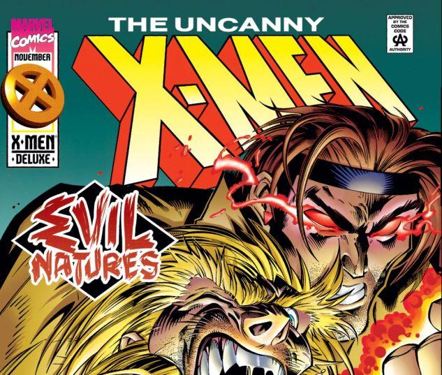 Uncanny X-Men (1963) #326 Cover