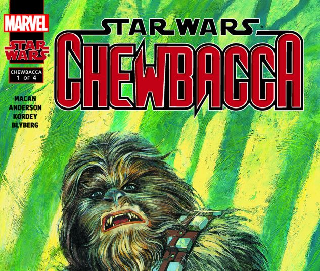Star Wars: Chewbacca (2000) #1