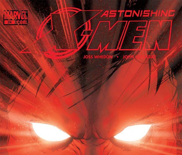 ASTONISHING X-MEN (2004) #24 Cover