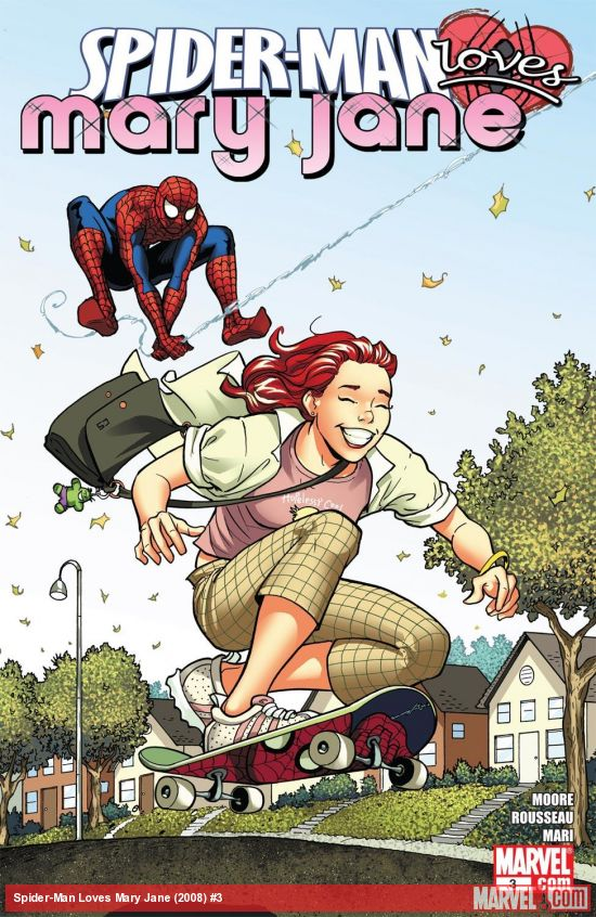 Spider-Man Loves Mary Jane (2008) #3