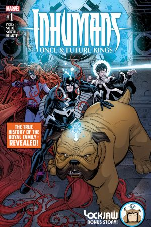 Inhumans: Once and Future Kings #1