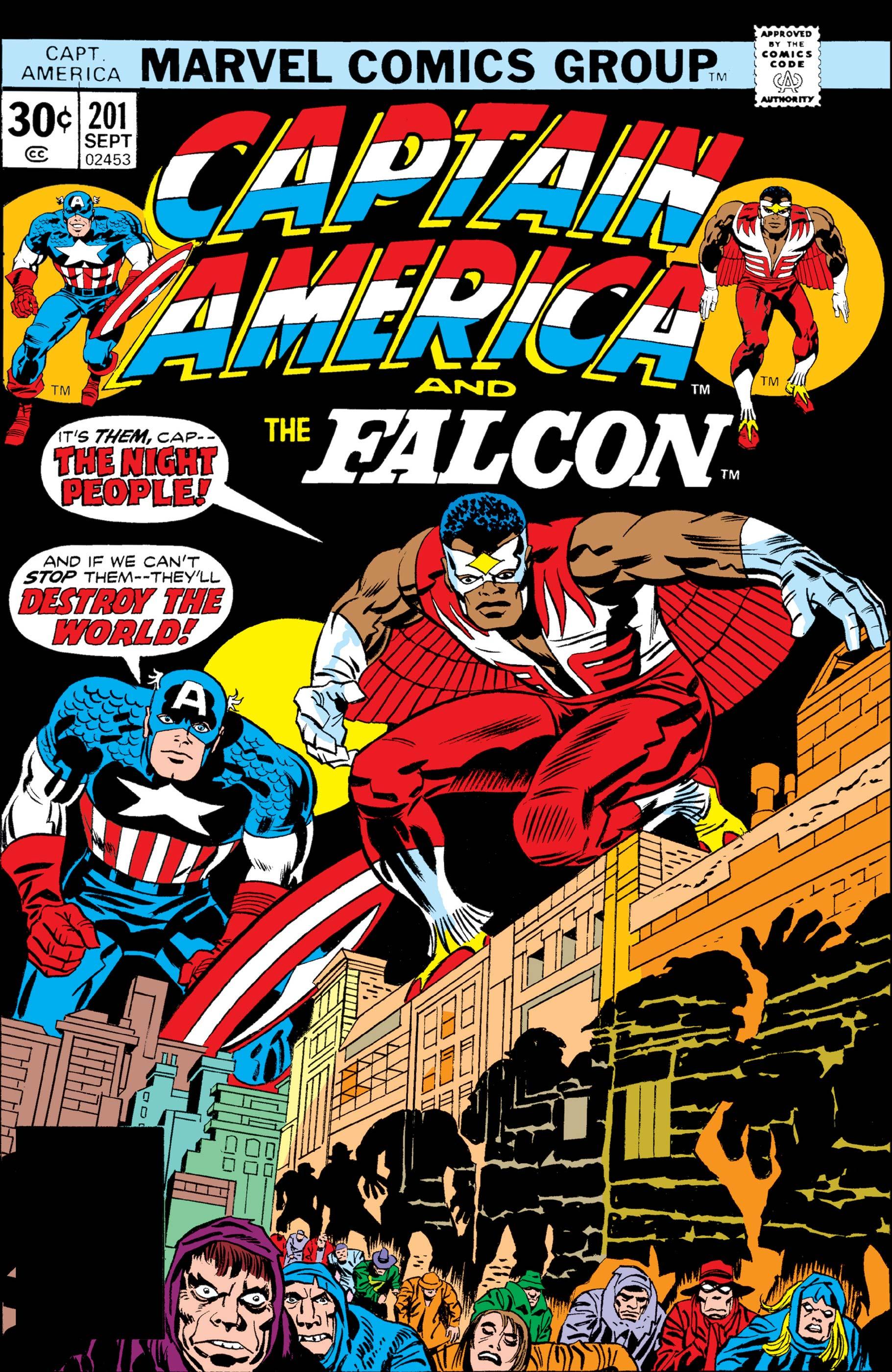 Captain America (1968) #201