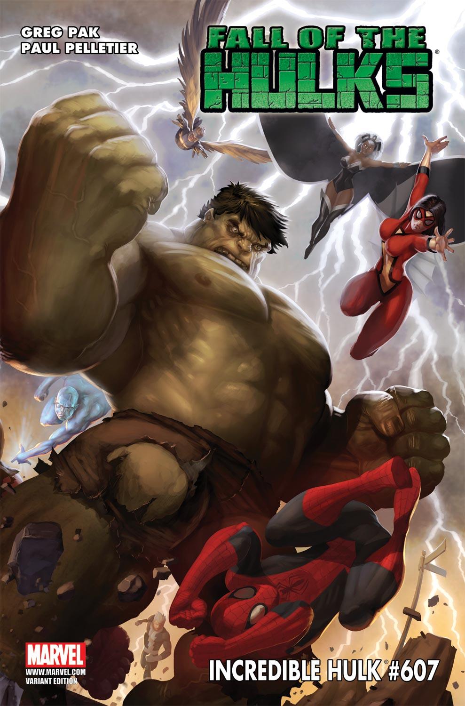 Incredible Hulks (2009) #607 (MCGUINNESS VARIANT)