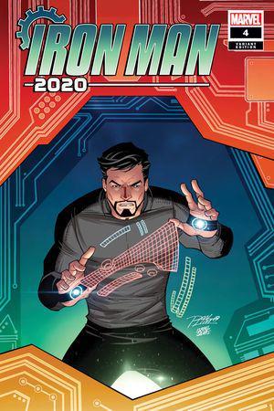 Iron Man 2020 (2020) #4 (Variant)