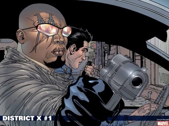 District X (2004) #1 Wallpaper