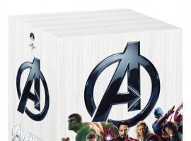 Marvel's The Avengers International Box Set Art - DVD box art