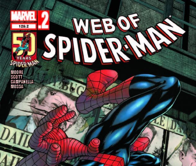 WEB OF SPIDER-MAN 129.2