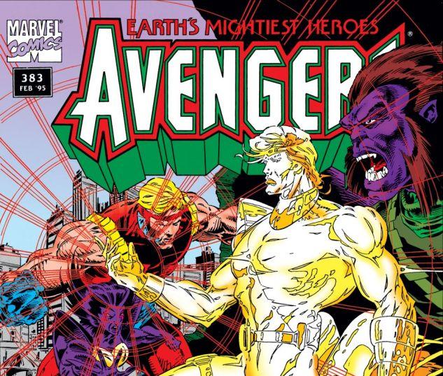 Avengers (1963) #383 Cover