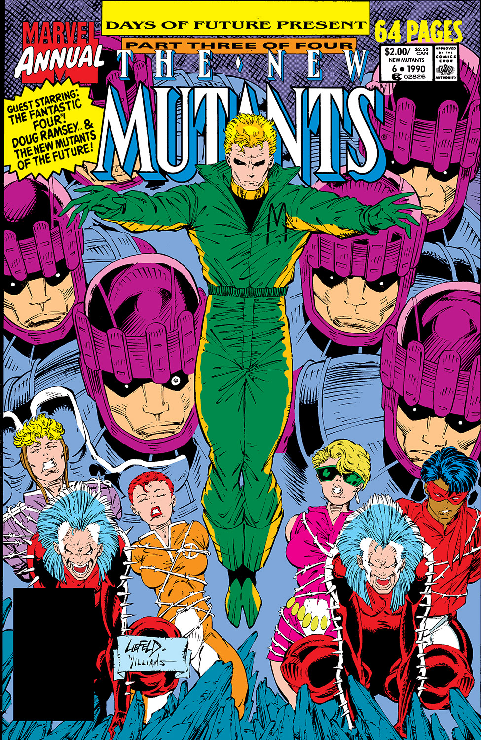 New Mutants Annual (1984) #6