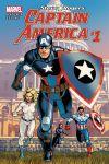 Captain America: Steve Rogers #1 cover by Jesus Saiz